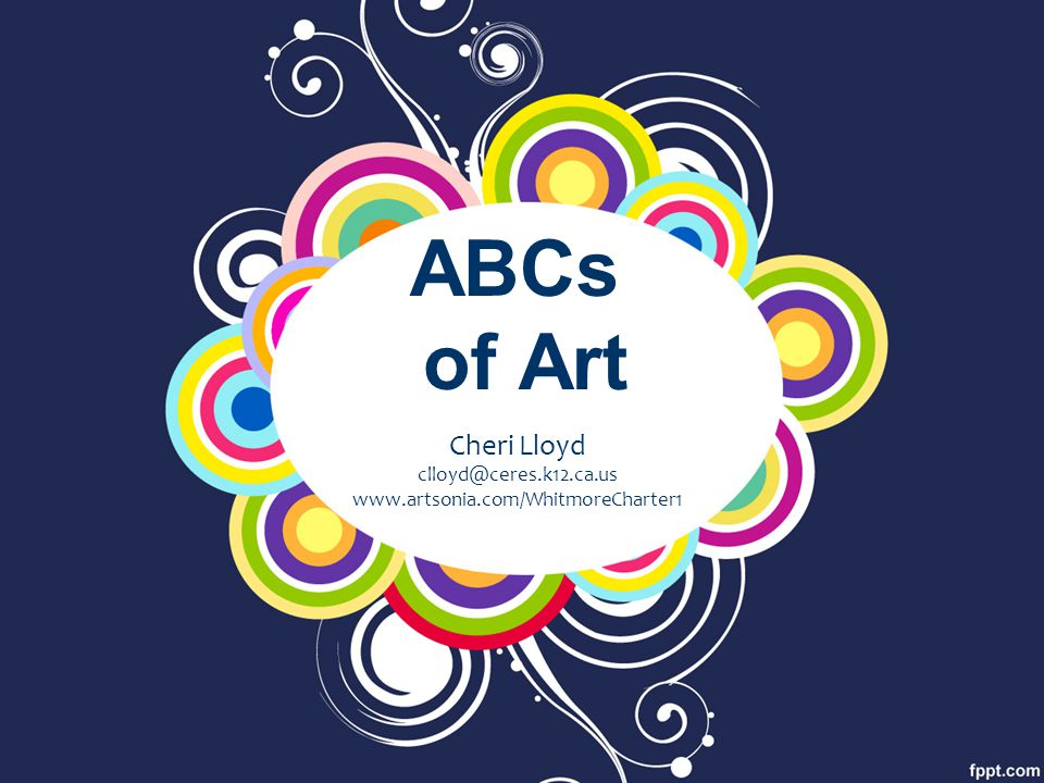 ABCs of Art Cheri Lloyd clloyd@ceres.k12.ca.us