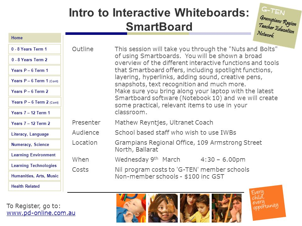 Intro to Interactive Whiteboards: SmartBoard