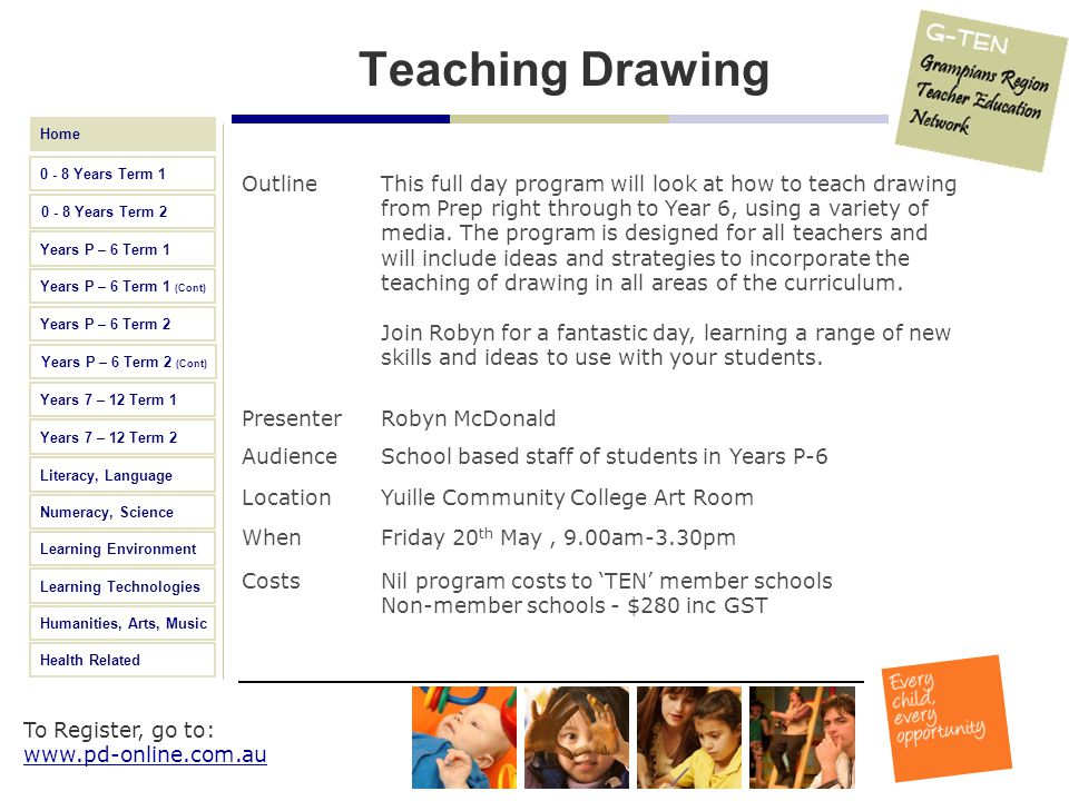 Teaching Drawing Outline