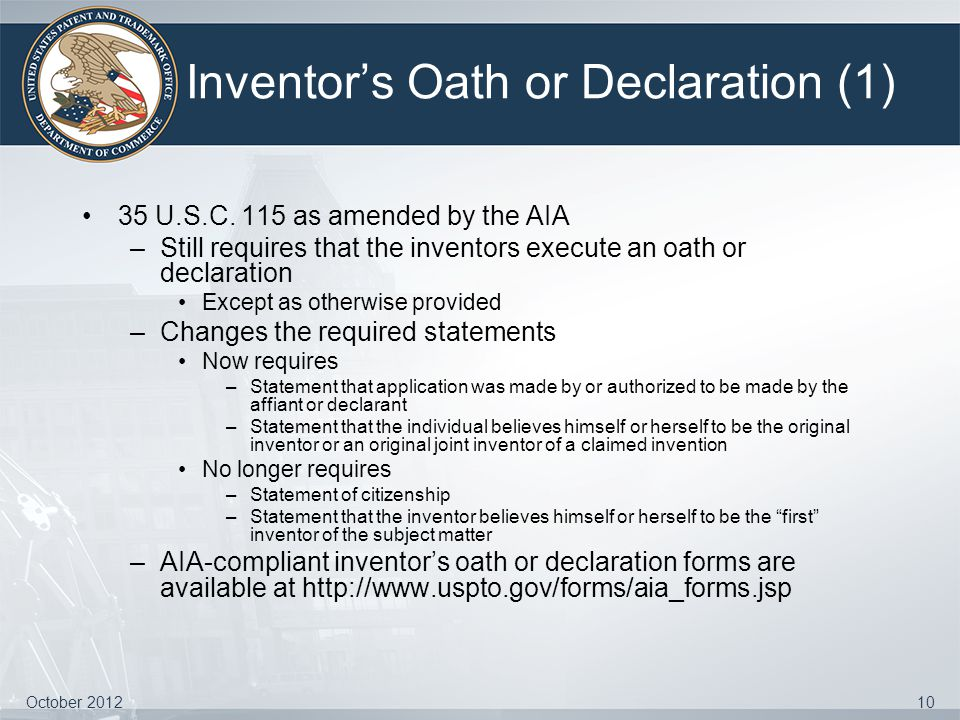 Inventor's Oath or Declaration (1)