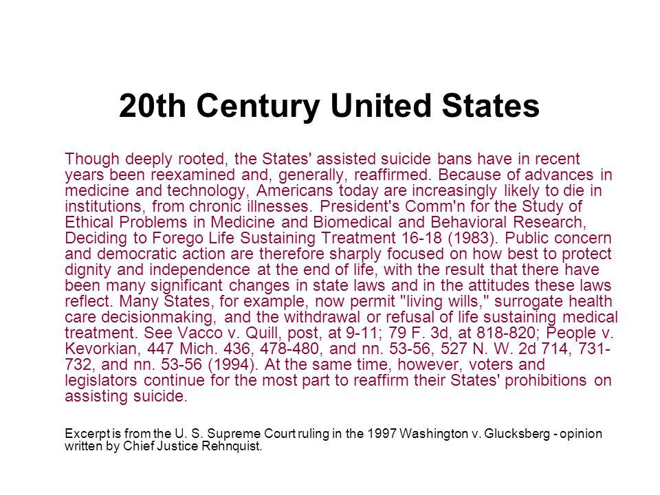 20th Century United States