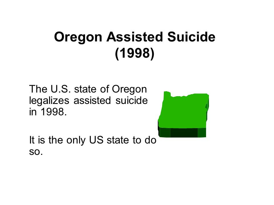 Oregon Assisted Suicide (1998)