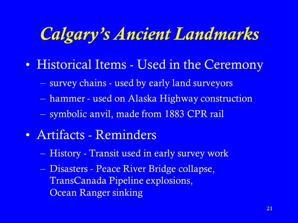 Calgary's Ancient Landmarks