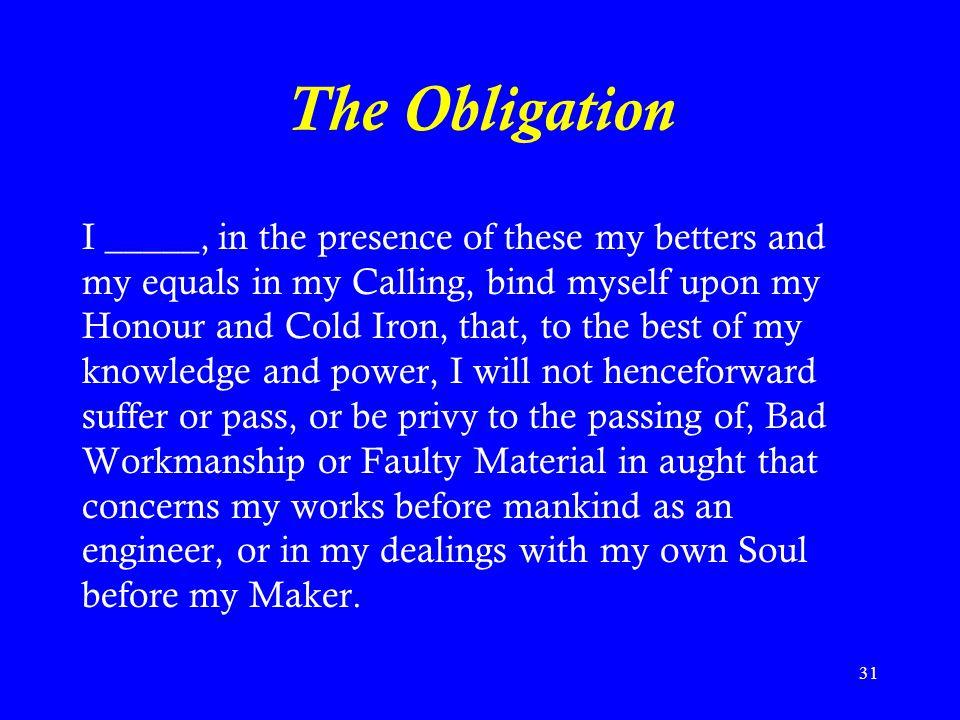 The Obligation