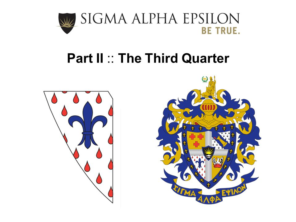 Part II :: The Third Quarter