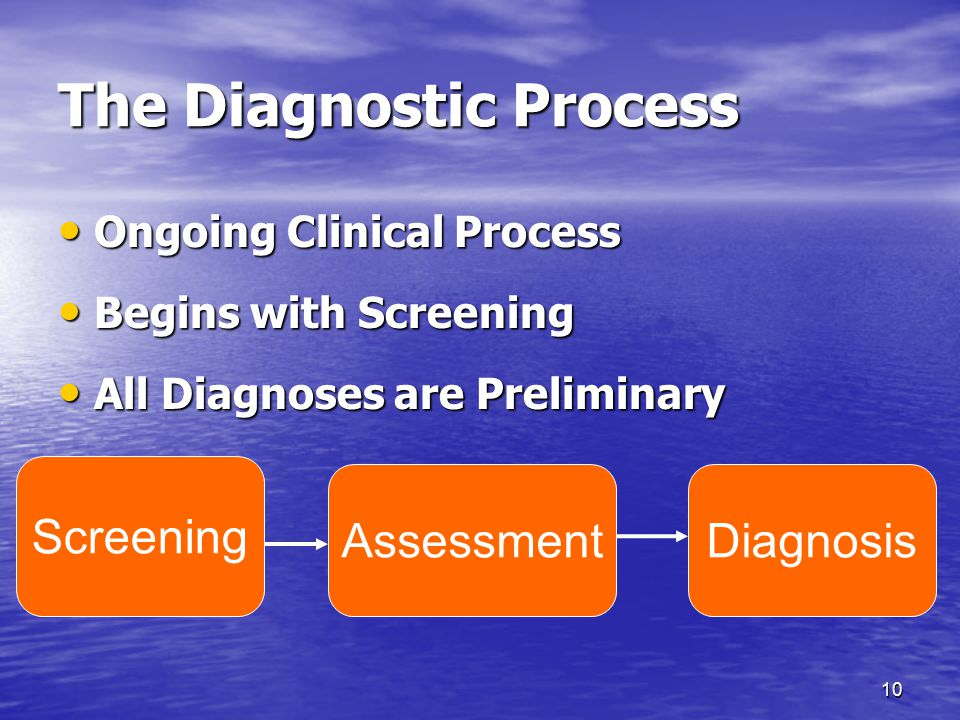 The Diagnostic Process