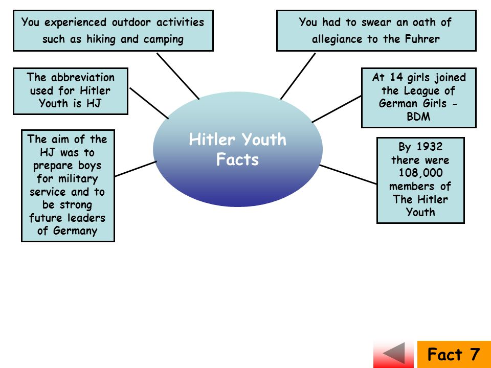 Hitler Youth Facts Fact 7