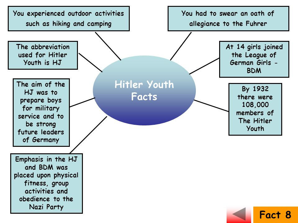 Hitler Youth Facts Fact 8