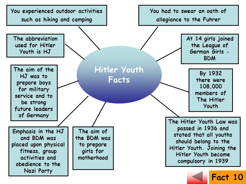 Hitler Youth Facts Fact 10