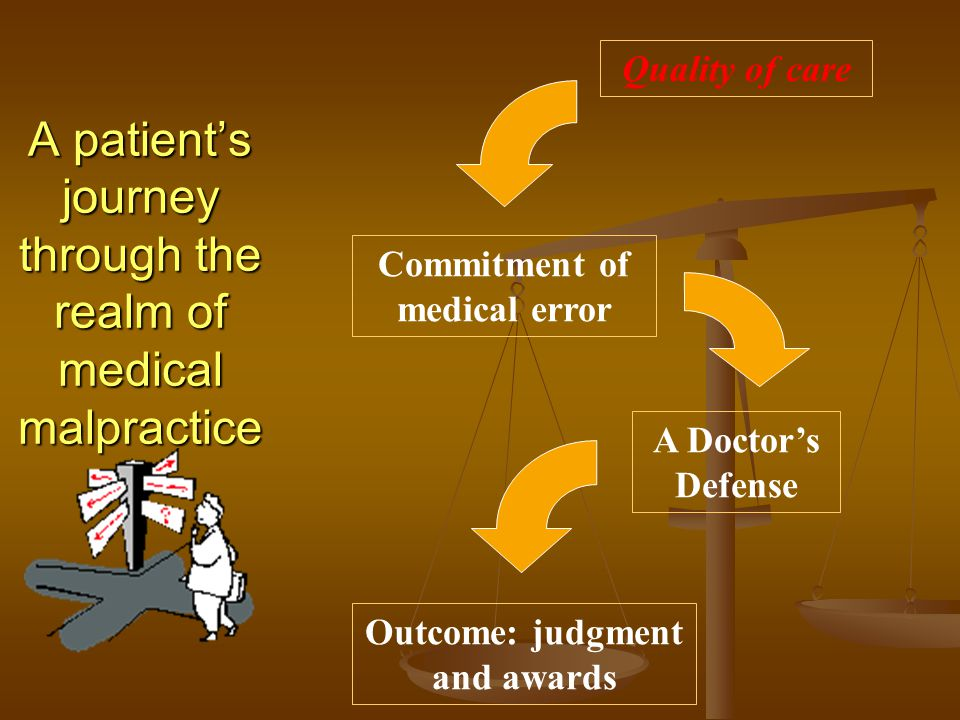 A patient's journey through the realm of medical malpractice