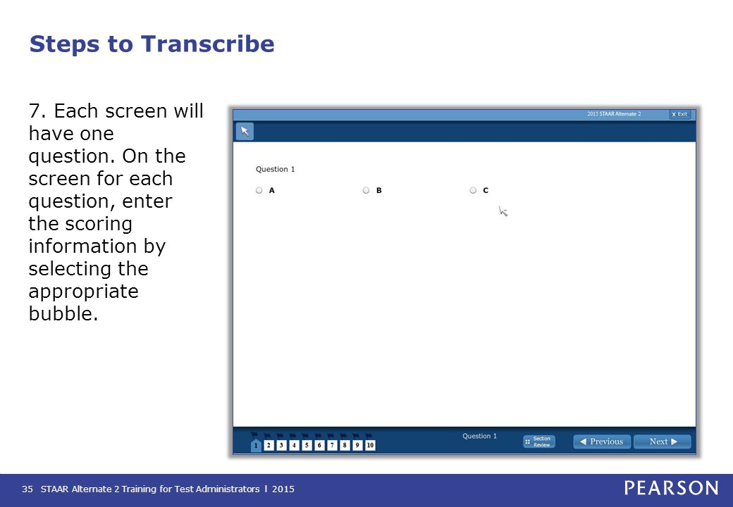 Steps to Transcribe