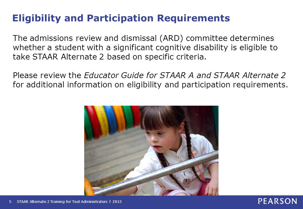 Eligibility and Participation Requirements