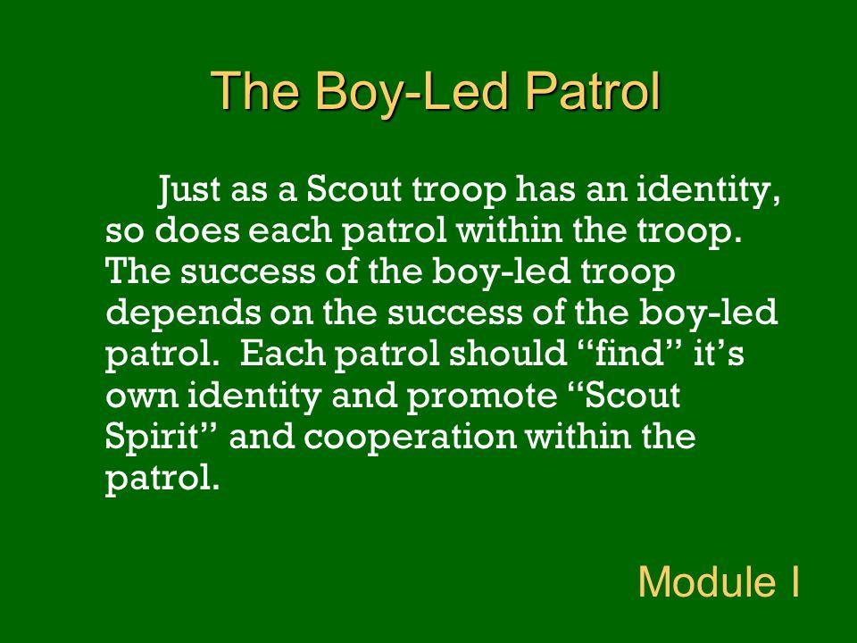 The Boy-Led Patrol Module I