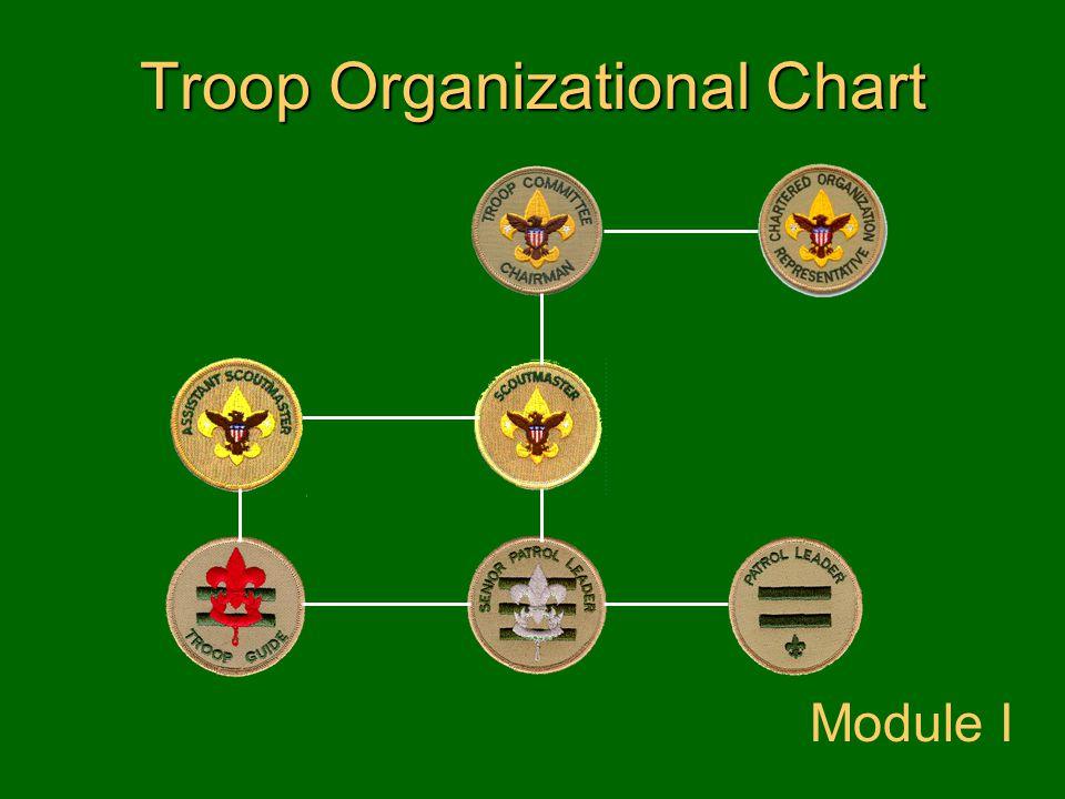 Troop Organizational Chart