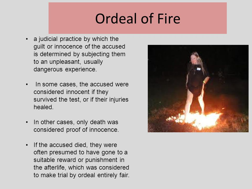 Ordeal of Fire