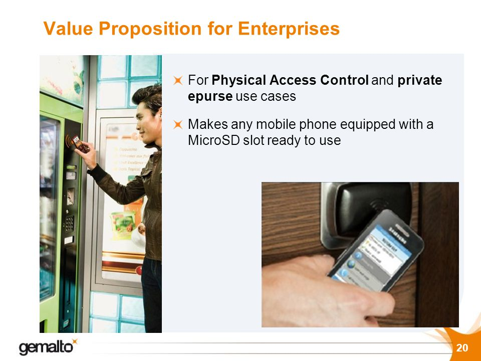 Value Proposition for Enterprises