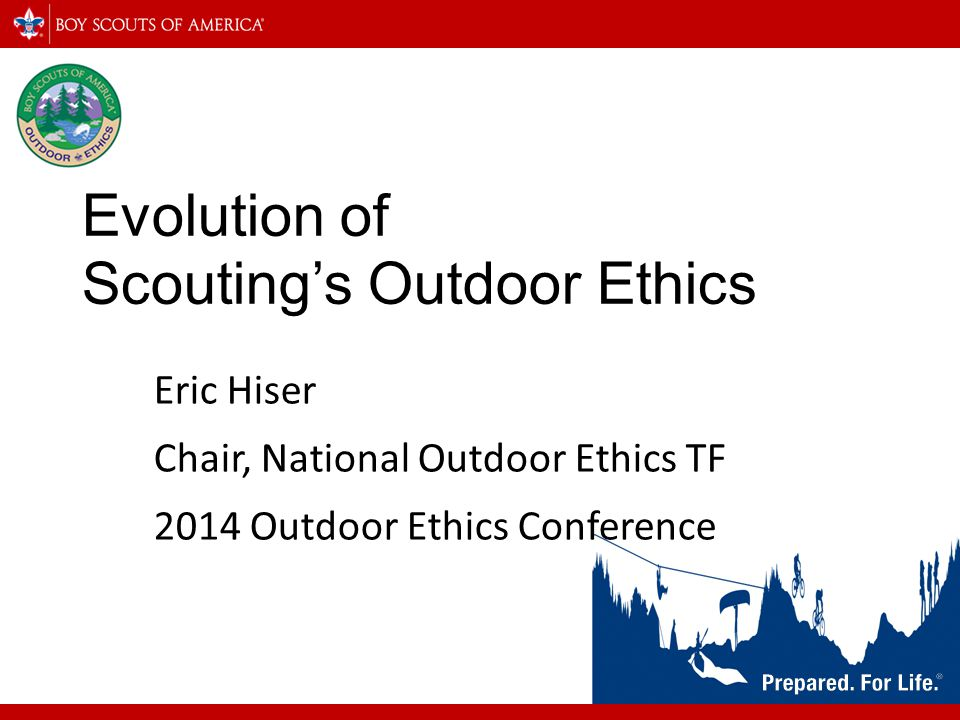 Evolution of Scouting's Outdoor Ethics