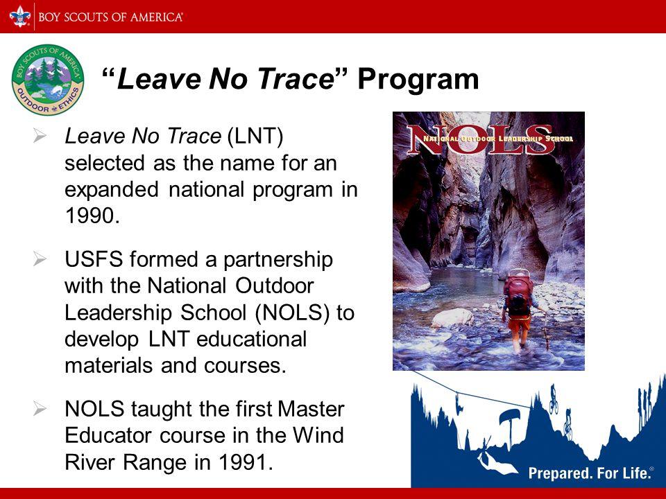 Leave No Trace Program