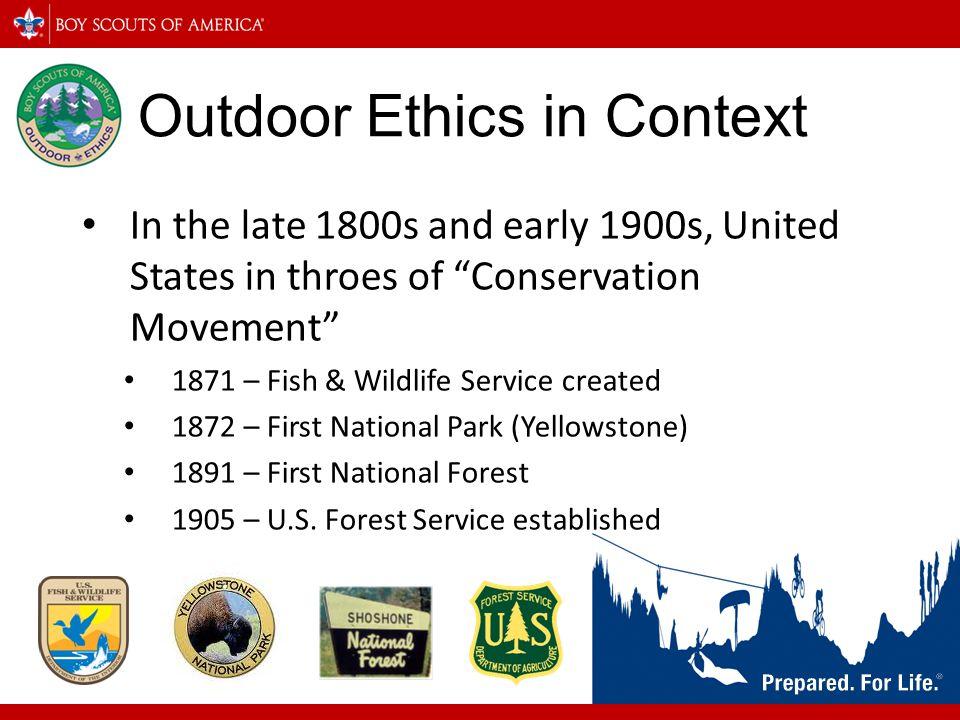 Outdoor Ethics in Context
