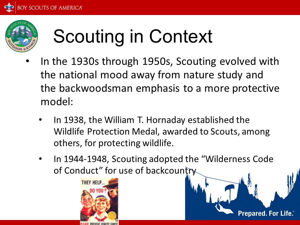 Scouting in Context