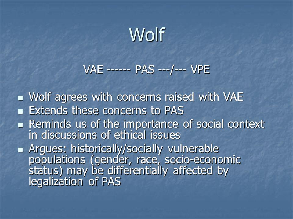 VAE ------ PAS ---/--- VPE