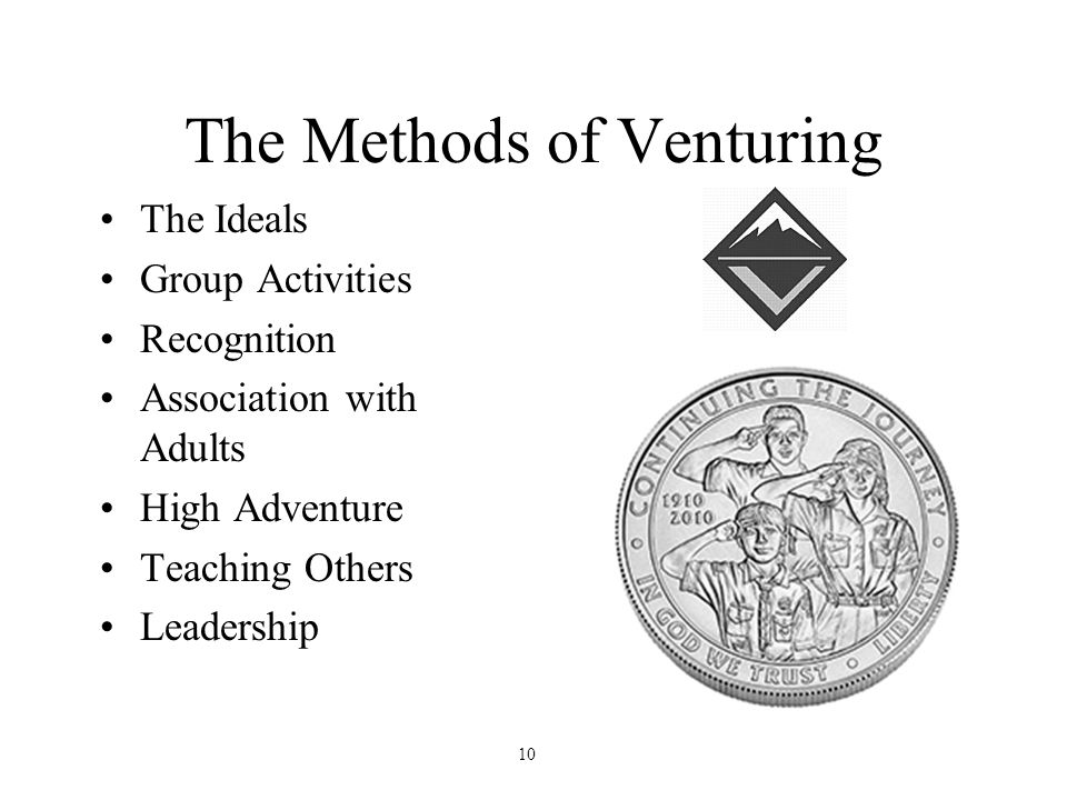 The Methods of Venturing