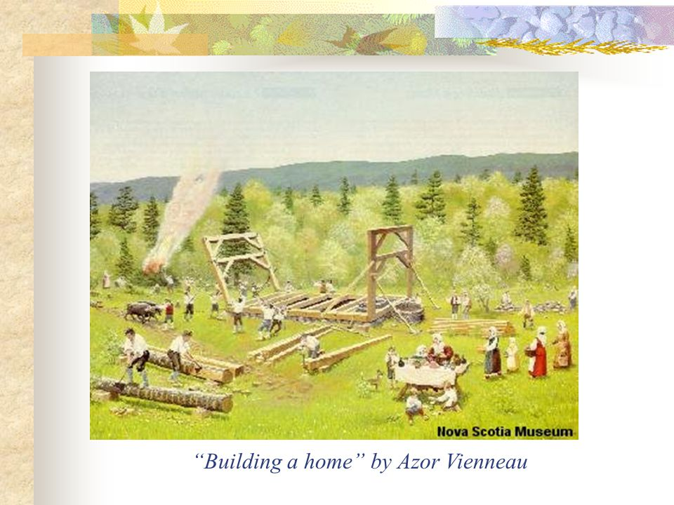 Building a home by Azor Vienneau
