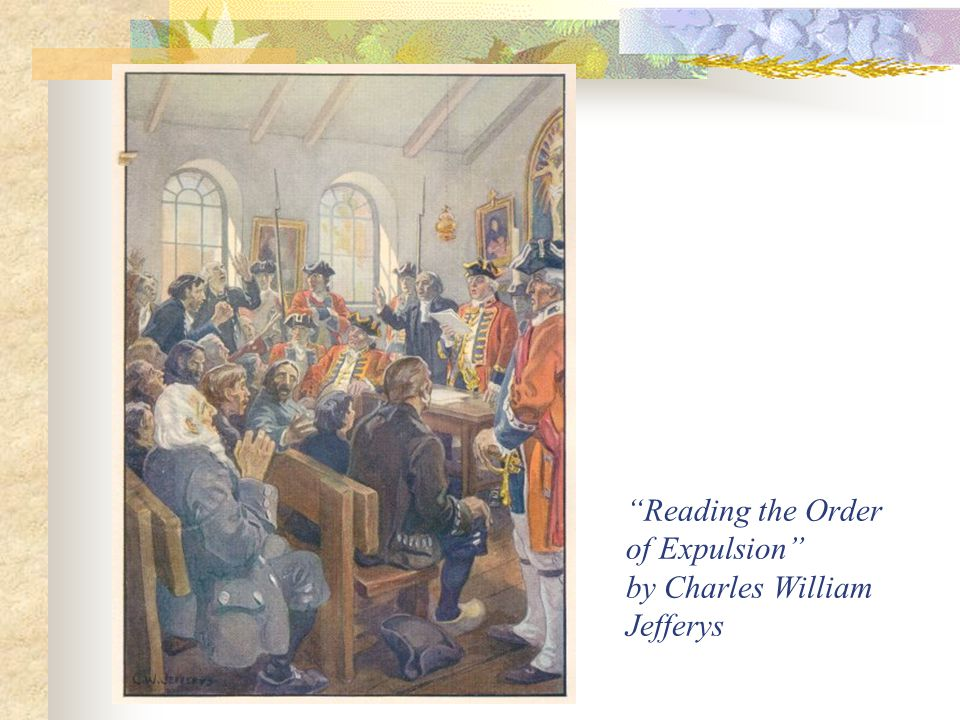 Reading the Order of Expulsion by Charles William Jefferys