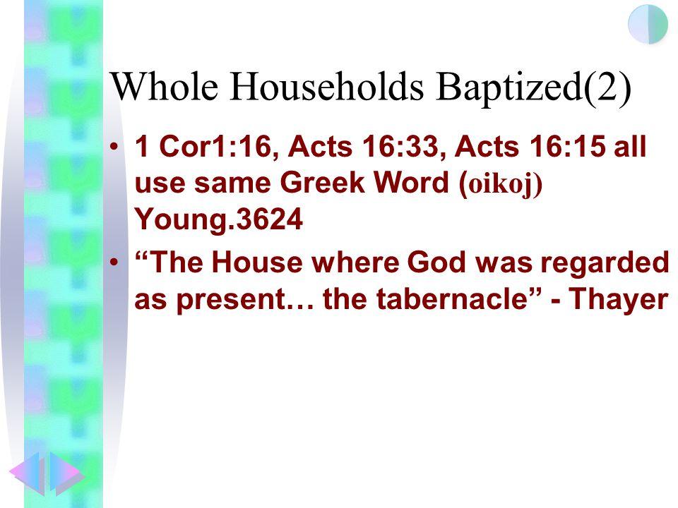 Whole Households Baptized(2)