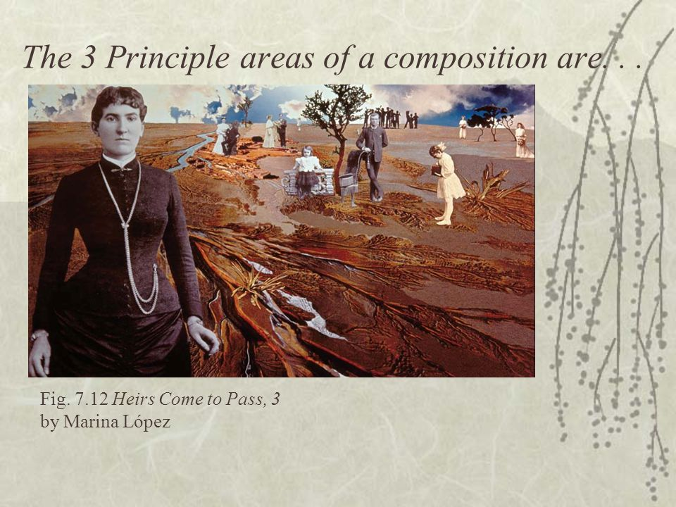 The 3 Principle areas of a composition are. . .
