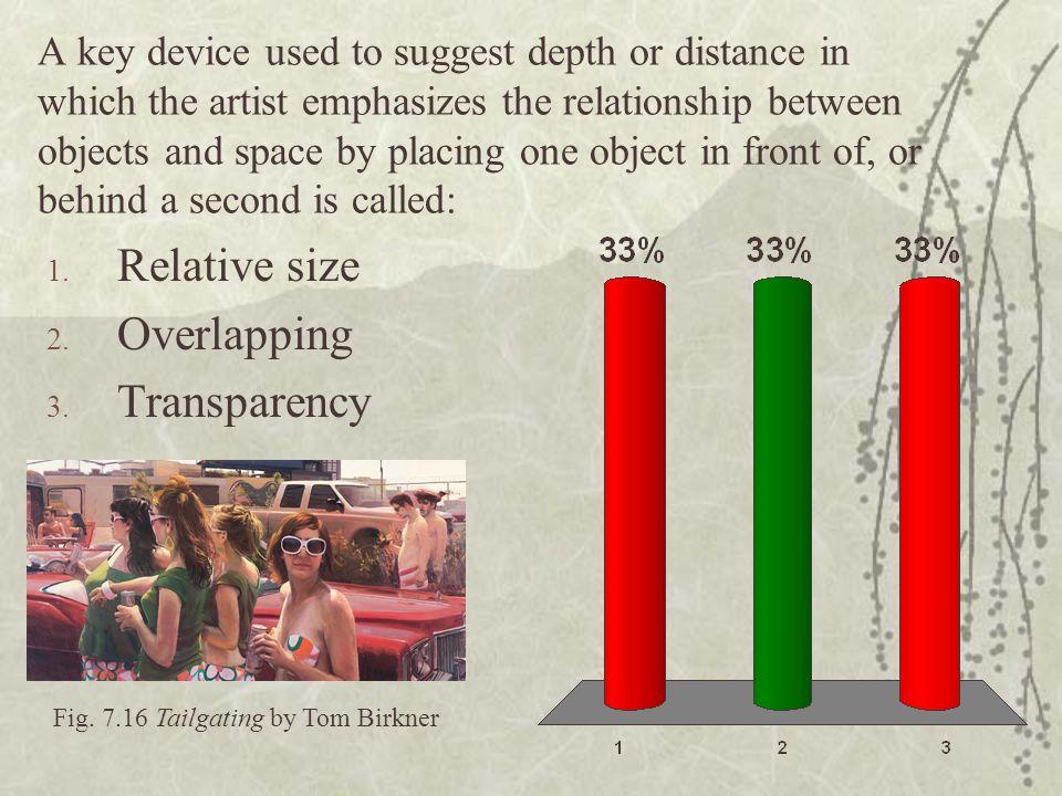 Fig. 7.16 Tailgating by Tom Birkner