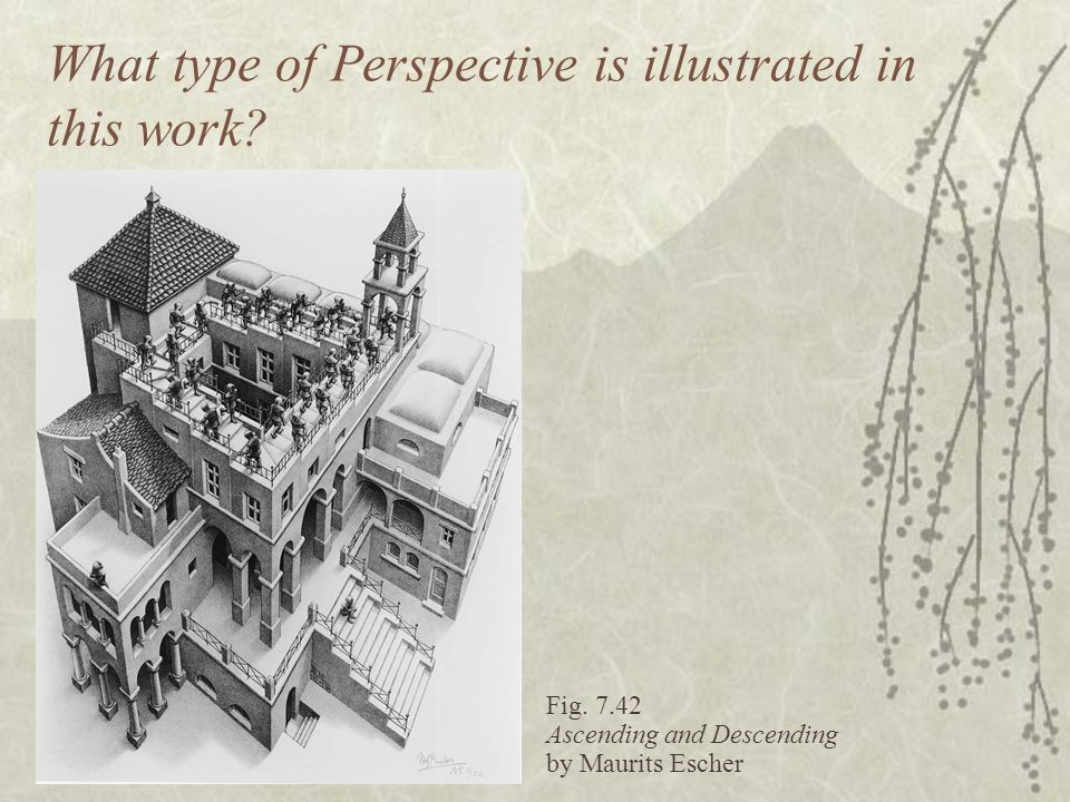 What type of Perspective is illustrated in this work