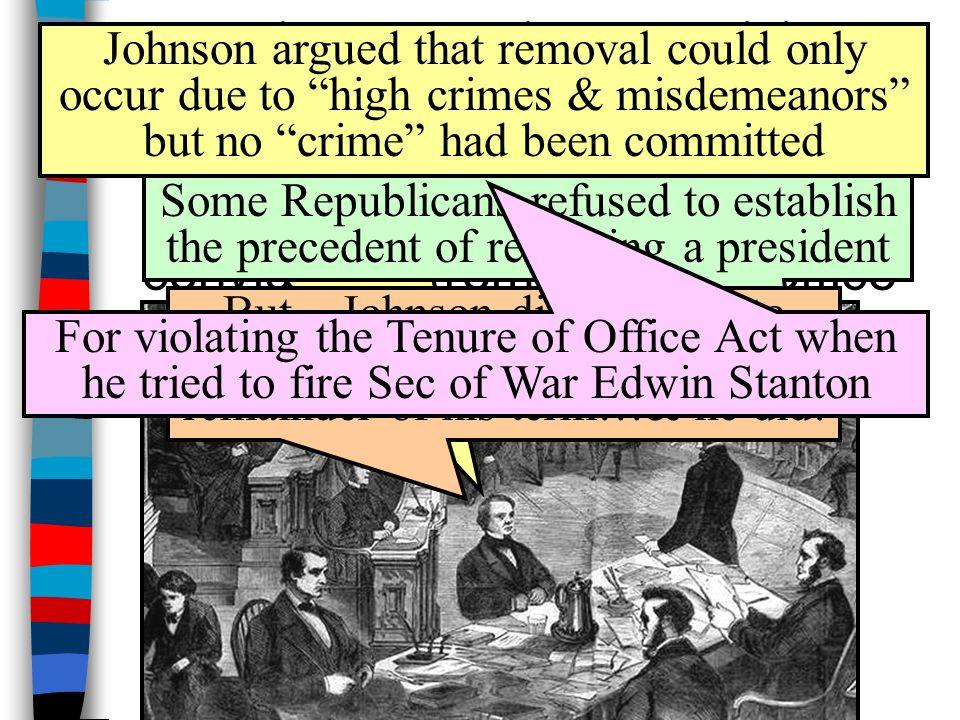 The Impeachment Crisis