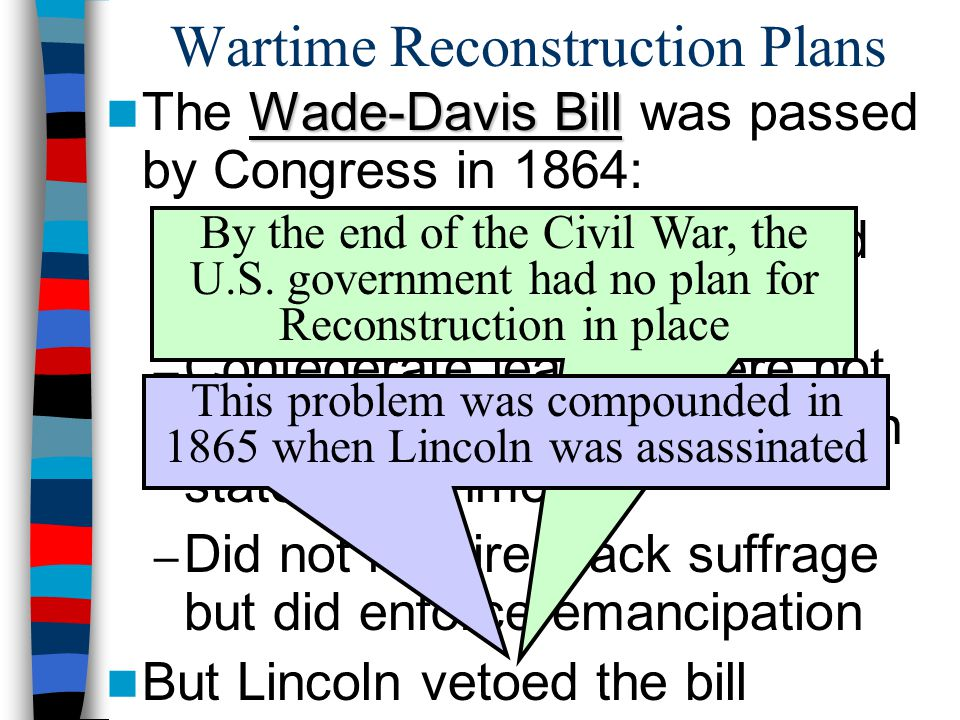 Wartime Reconstruction Plans