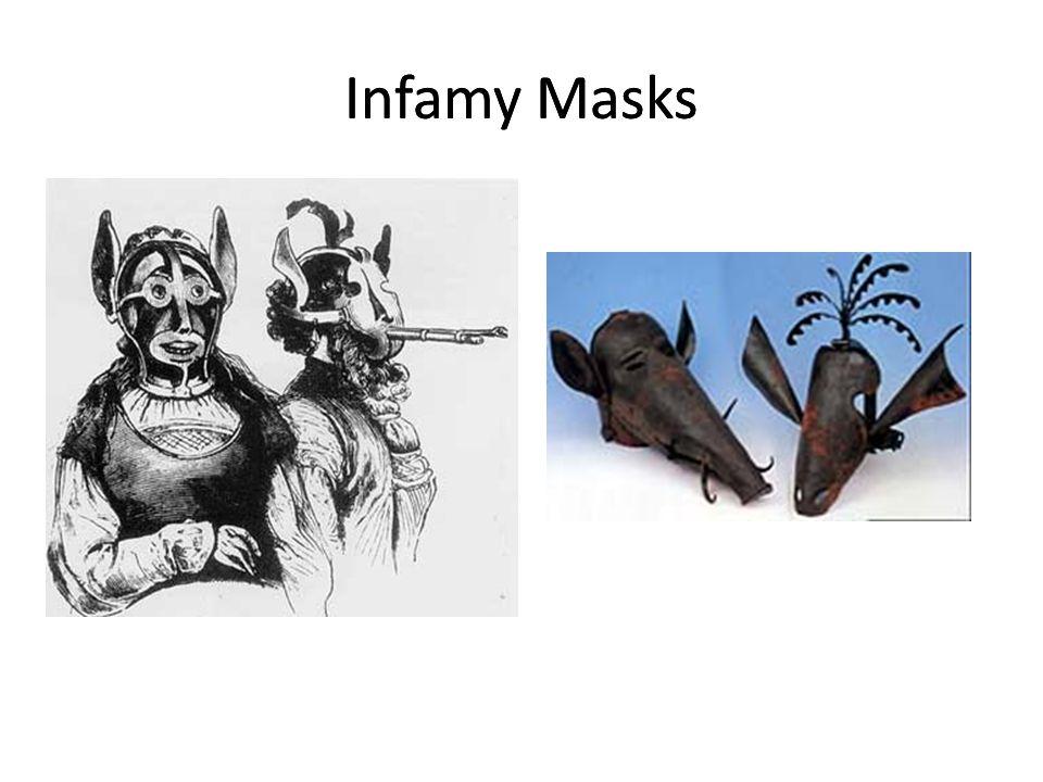 Infamy Masks Infamy Masks