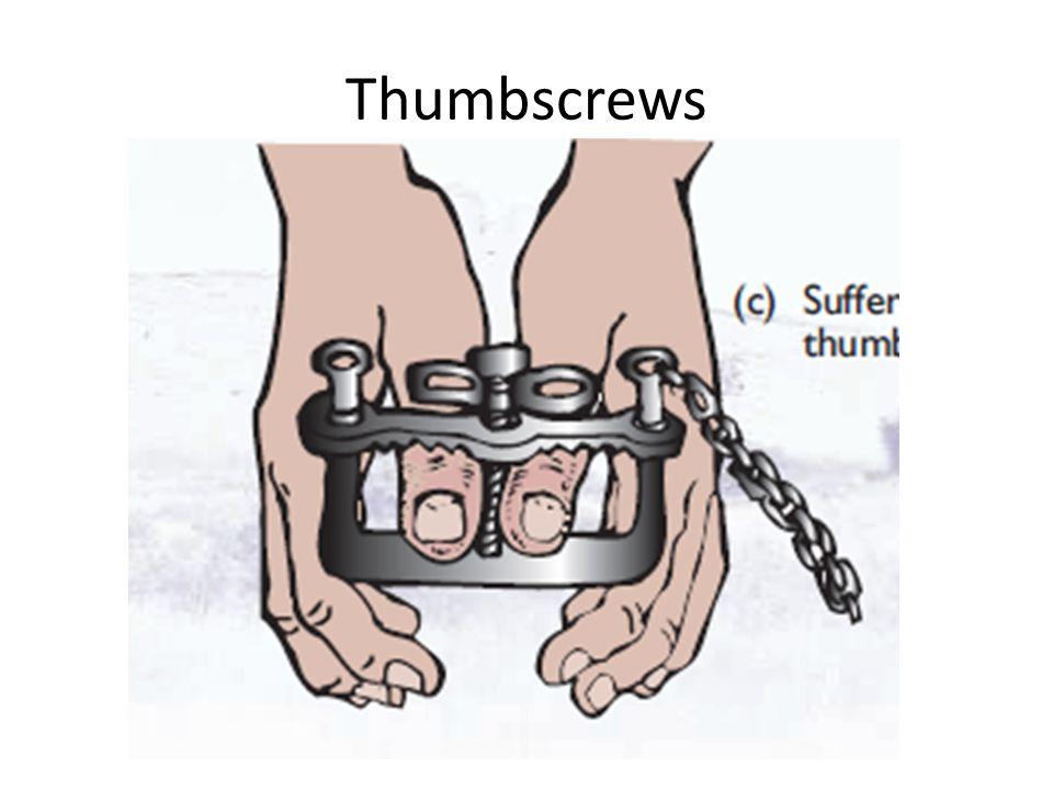 Thumbscrews