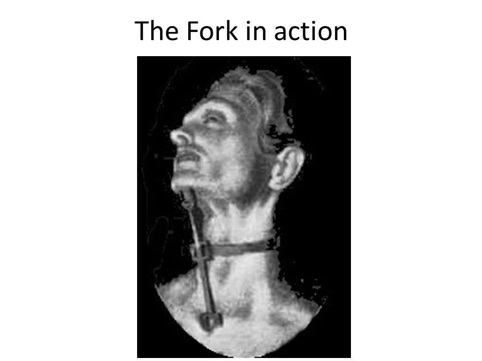The Fork in action