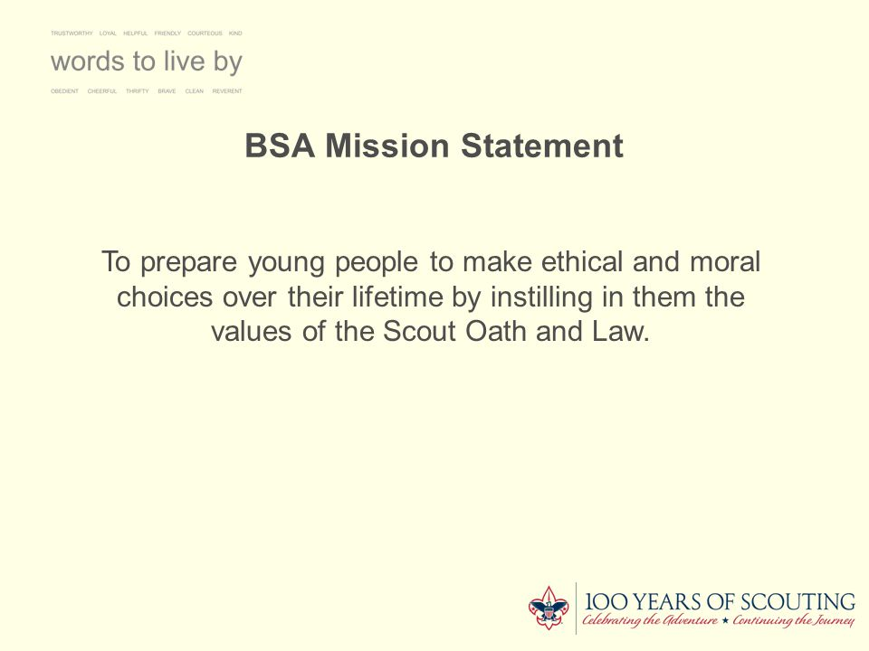 BSA Mission Statement