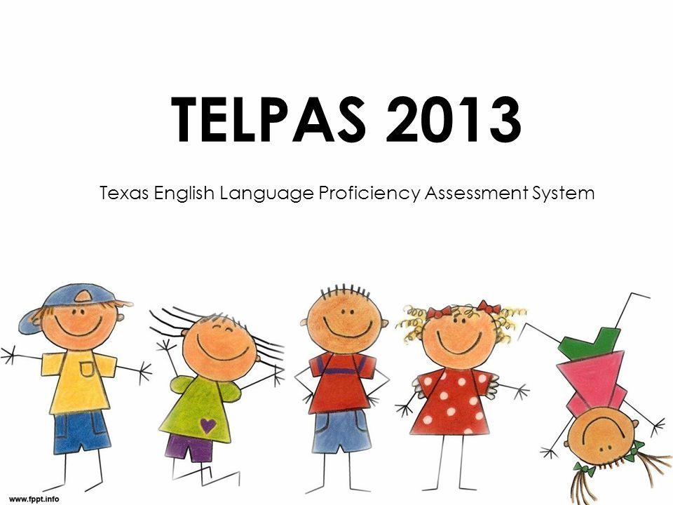 Texas English Language Proficiency Assessment System