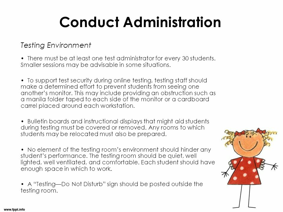 Conduct Administration