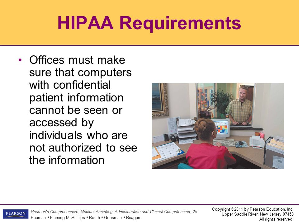 HIPAA Requirements
