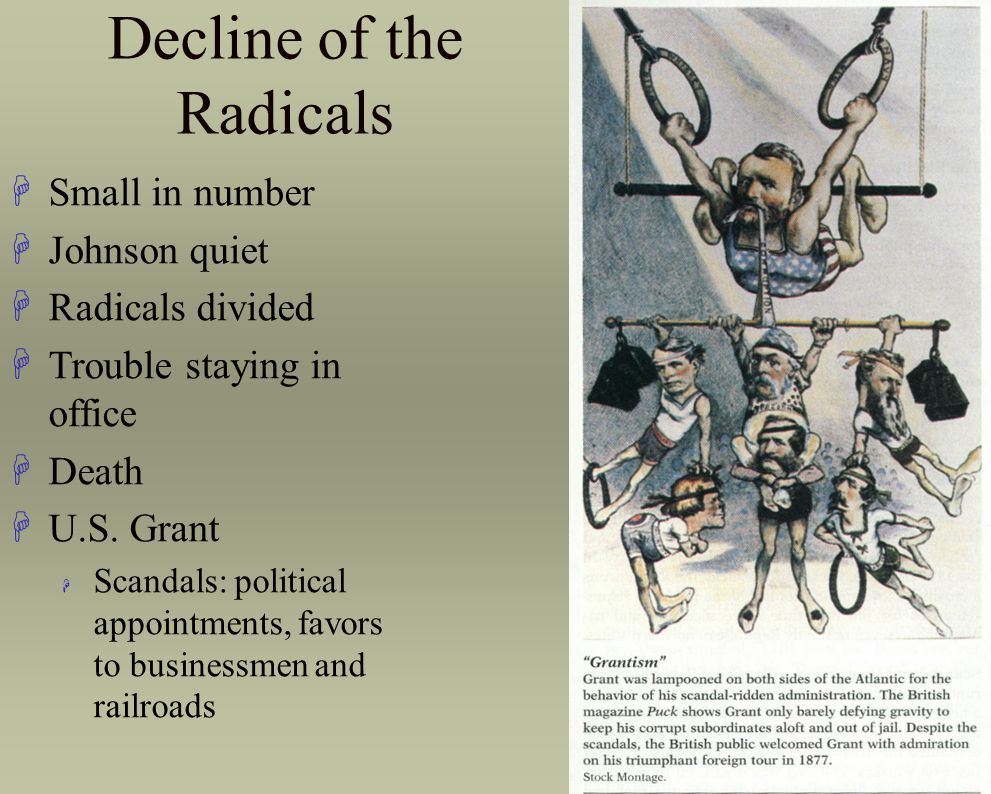 Decline of the Radicals