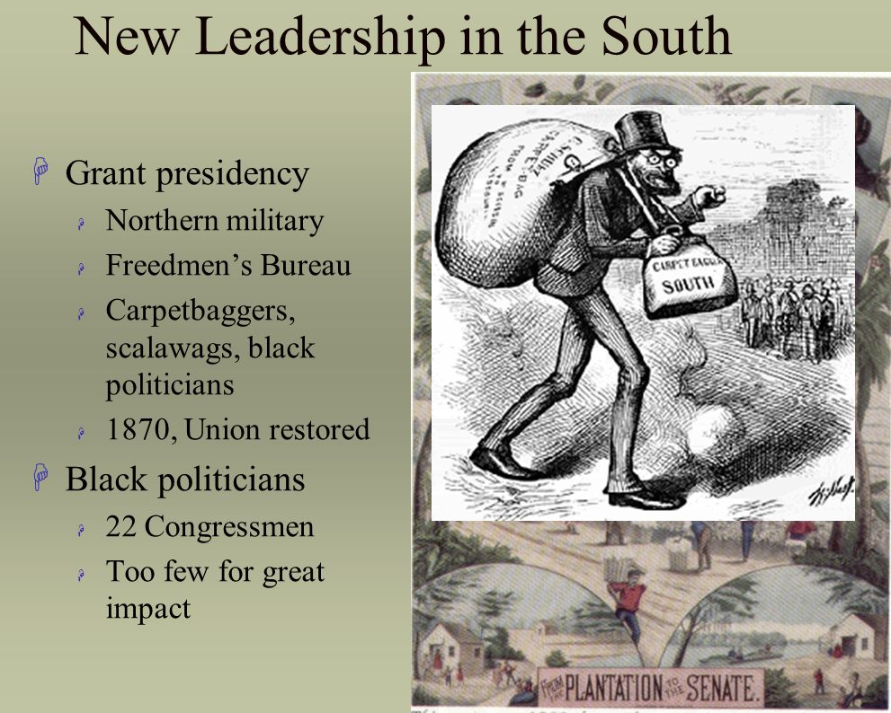 New Leadership in the South