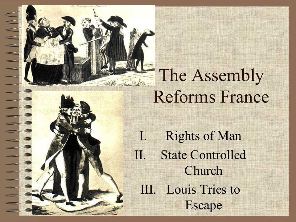 The Assembly Reforms France