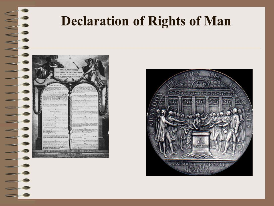Declaration of Rights of Man