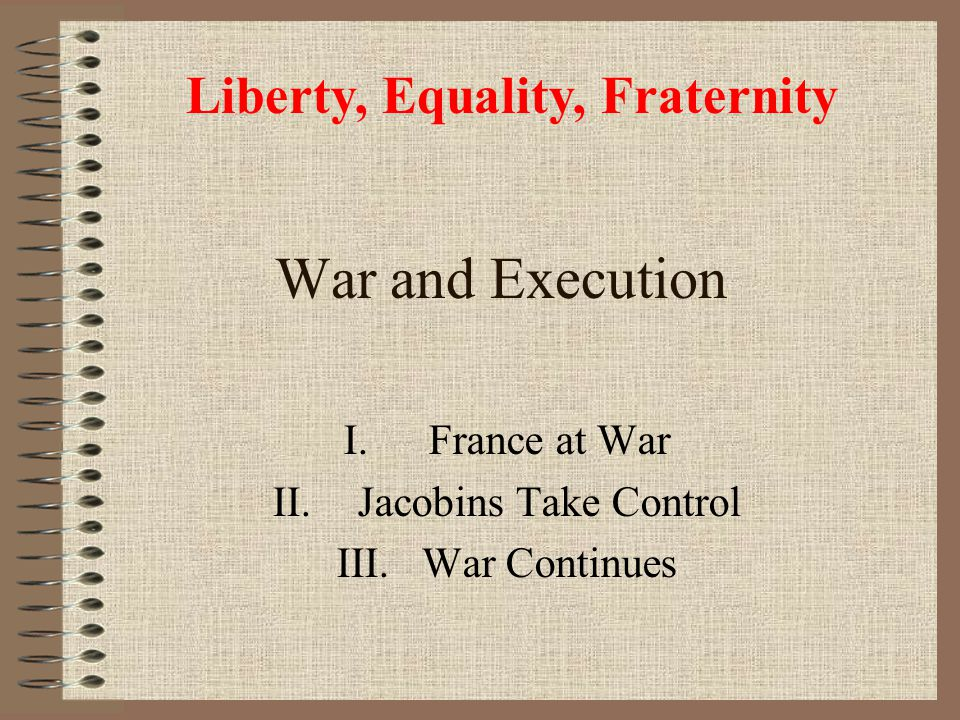 France at War Jacobins Take Control War Continues
