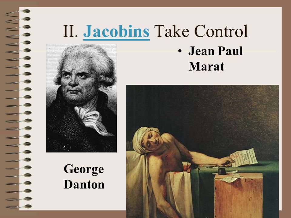 II. Jacobins Take Control