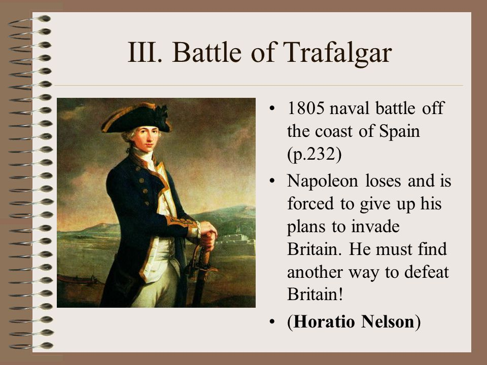 III. Battle of Trafalgar
