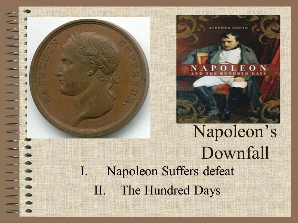 Napoleon Suffers defeat The Hundred Days