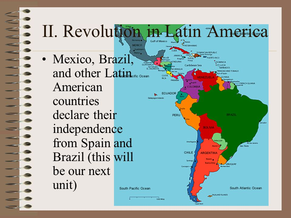 II. Revolution in Latin America